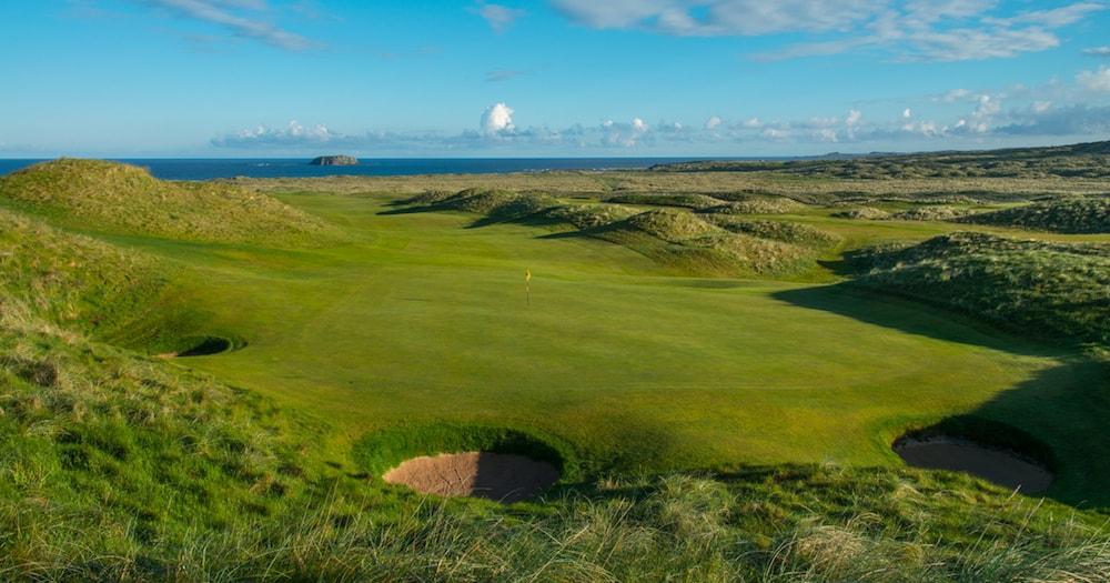 New 13 Ballyliffin Golf Club