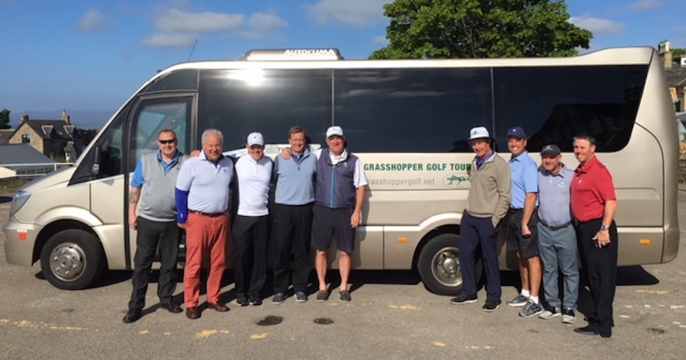 Grasshopper Golf Tours Ireland