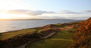 10th and 11th Greens Castle Stuart Golf Links