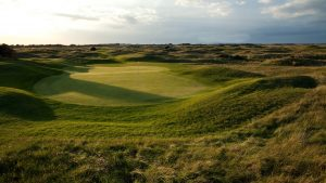 The 3rd Green At Royal St. George's